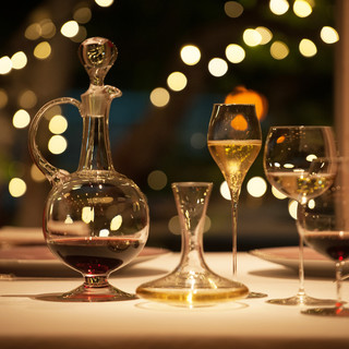 ソムリエセレクト一皿ずつに合わせたワインペアリング