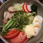 志のだや - 料理写真:「冷し中華」(830円)