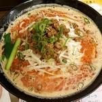東京担々麺  ゴマ哲 - 赤担々麺