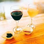Café Leaf  - 有機グラスワイン (白/赤)