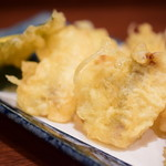 82507271 - 白身魚の天ぷら(能登西海産)@700円+税