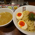 玉五郎 - 特製塩煮干しつけ麺