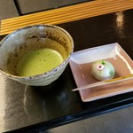 茶室 童子苑 - 料理写真:「立札式呈茶 (350円)」