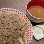 82509222 - 納豆汁 冷たい蕎麦