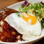 Village Vanguard DINER  - ベーコンエッグハンバーグロコモコ
