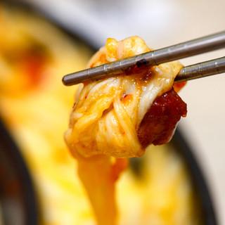 ★女子オススメ★チーズタッカルビ選べる2種食べ放題コース