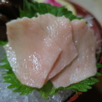 鶴我 - 会津の馬刺し盛り:赤身 タテガミ レバー4