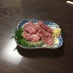ちゃんこ 力士 二子竜 - 180206上馬刺し950円