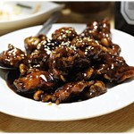 晴々飯店 - 高級黒酢の酢鶏