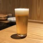 豚しゃぶ酒房 一昇hanare - 生ビール