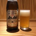 豚しゃぶ酒房 一昇hanare - 瓶ビール