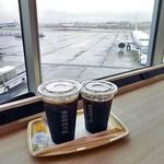 ドトールコーヒーショップ - アイスコーヒー(M)&(S)