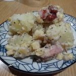 蕎麦と日本酒 八福寿家 - ポテサラ