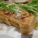 蕎麦と日本酒 八福寿家 - 油揚げ