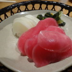 蕎麦と日本酒 八福寿家 - 漬物