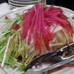 蕎麦と日本酒 八福寿家 - サラダ