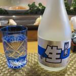 鮨処西功 - 北の誉 純米生酒