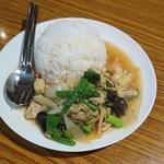 82514504 - 鶏肉とキクラゲの生姜炒めご飯900円