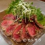 創作料理 まさぞう - 埼玉県産ダチョウのタタキ