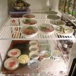 北浦酒店 - 冷蔵庫の小鉢