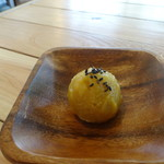 village cafe - ふーちゃんぷるー定食のデザート