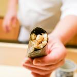 鮨木場谷 - 料理写真:巻物