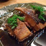 山せみ - 煮魚(すずき)