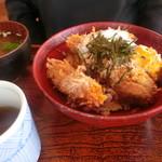 ドルチェ/かつ富 - 牡蠣の醤油だし丼