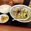 もん吉 - 料理写真:ちゃんぽん¥850  唐揚げセット¥350