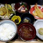 ワイン・寿司・天ぷら 魚が肴 - 揚げたて!天ぷらお膳