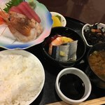 彩 - 料理写真:刺身定食
