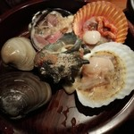 三重を喰らえ 貝ばか一代 - 貝焼き盛り合わせ
