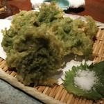 貝ばか一代 - あおさの天ぷら