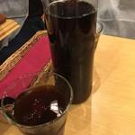 大手町ワインバル 八十郎商店 - 黒ウーロン茶飲み放題