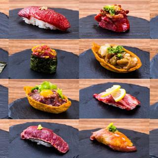 ★桜肉寿司が20種以上★