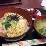 鳥好 - 親子丼ランチ(500円)
