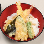 ひさ家 - 海老天丼