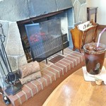 ファーマーズ カフェ - ランチにセットのアイスコーヒー