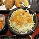 串亭 - サラダ。       美味し。