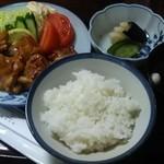 川栄 - 料理写真:鳥しょうが焼定食