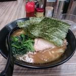 ラーメン武蔵家 - デフォルトラーメン650円