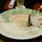 つきじやまもと - 料理写真:刺身(菊造り)