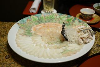 つきじやまもと - 刺身(菊造り)