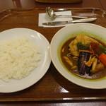 キタカレー - スープカレー(1490円)