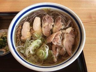 そば処ふもと - 肉そば ¥700
