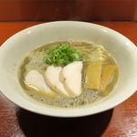 らーめん竹馬 - 凄く濃い ど煮干そば(800円)