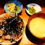 小料理野本 - 漬丼