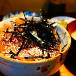 小料理野本 - 漬丼アップ