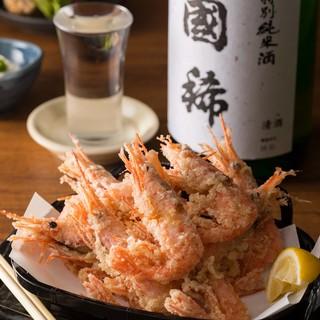 【期間限定◆旬の食材を味わう春の逸品】北海道増毛町の甘海老