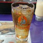 ナマステ・ネパール - NAMASTE NEPAL @板橋本町 食後のサービスアイスウーロン茶